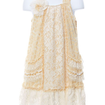 Pretty As A Picture Marigold Dress