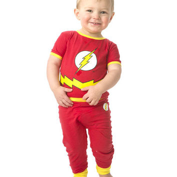 Flash Gordon Red & Yellow Flash Character Pajama Set - Infant & Toddler | zulily