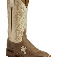 Tony Lama Cross Inlay Cowgirl Boots - Sheplers