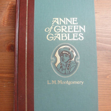 Vintage Ann of Green Gables Book - With Color Pictures - Reader's Digest Edition
