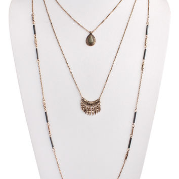 Boho Layered Necklace