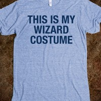 THIS IS MY WIZARD COSTUME