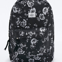 Obey Outsider Backpack in Black - Urban Outfitters