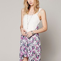 Free People Womens Garden Party Printed Slip -