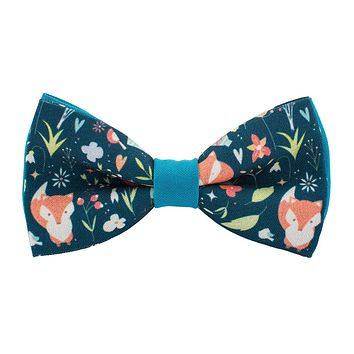 Blue Fox bow Tie