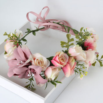 Shades of Vintage - Whimsy Flower Crown