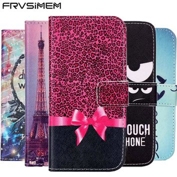 FRVSIMEM For Apple iphone 5s 5 SE Book Stand Style Magnet side Flip Leather Case Wallet Cover With Card Slot for 6 6s 7 8 Plus X