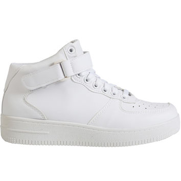 All Color High Top Sneaker - White Out