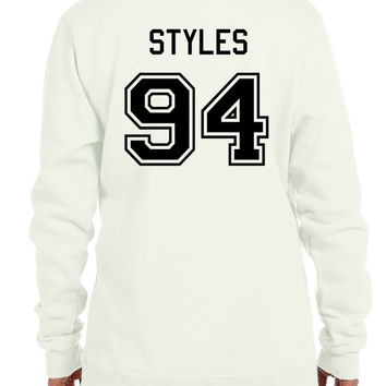 Harry Styles 94 1D One Direction Boy Band SweatShirt