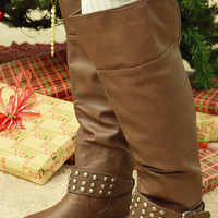 Coming To Town Boots: Chocolate
