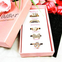 Gift New Arrival Stylish Jewelry Shiny Korean Luxury Innovative Ring [7830365761]