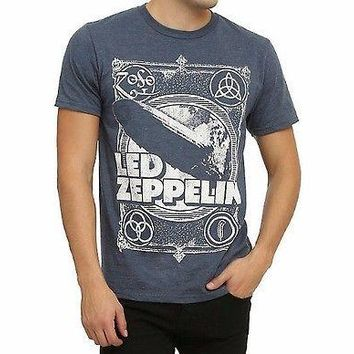 Led Zeppelin LED ZEPPELIN I BLIMP SYMBOLS T-Shirt NEW 100% Authentic & Official