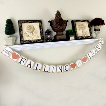 Still falling in Love banner, Fall Wedding Banner, Vow Renewal, Anniversary Banner, We Still Do