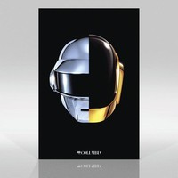 SPLIT HELMET POSTER | Daft Punk US Shop