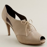 Women's new arrivals - shoes - Keaton cutout high-heel oxfords - J.Crew