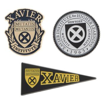 Xavier Institute for Higher Learning Pins