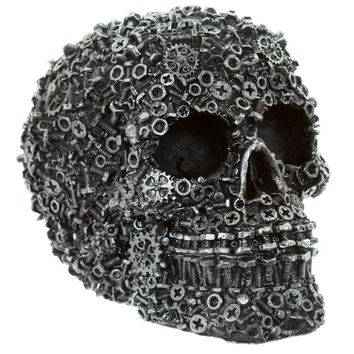 Nuts & Bolts Skull