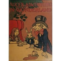 NEW! Vintage Alice's Adventures in Wonderland Cover Poster 1907 Wall Art Decor