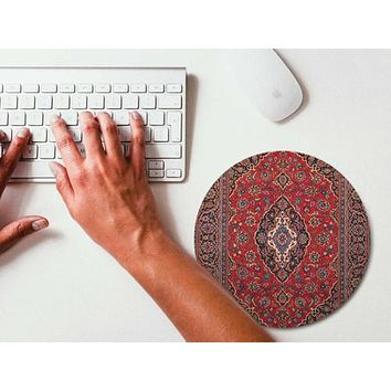 Mouse Pad Red Persian Carpet Mousepad Art Mouse