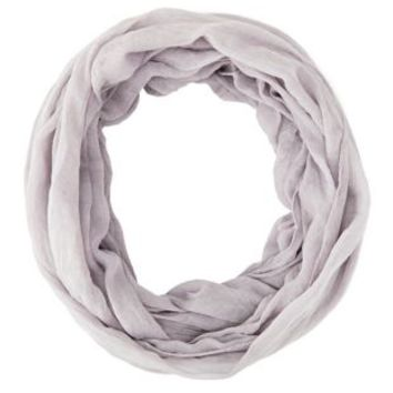 Lightweight Crinkled Infinity Scarf by Charlotte Russe