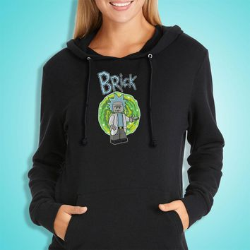 Lego Rick And Morty Women'S Hoodie