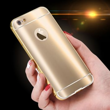 Metal Stylish Sparkle Shining Case for iPhone