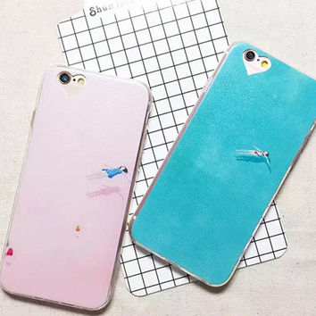 Stylish Iphone 6/6s Cute Hot Deal On Sale Hot Sale Girl Couple Phone Case [6034154049]