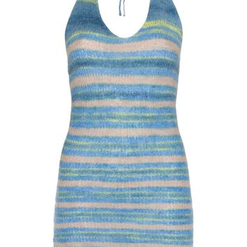Blue Knitted Mini-Dress by Jacquemus