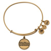 Pittsburgh Steelers Logo Charm Bangle