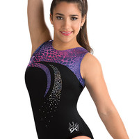 Aly Cat Swirl Gymnastics Leo from GK Elite