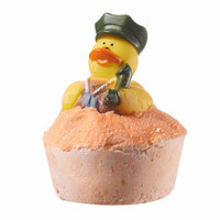 Bath Bombs - Rubber Duck Bath Bomb by Sassy Bubbles -- Georgia Peach Scent