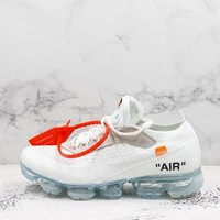 Nike Air Vapormax 2017 X Off-white White Running Shoes - Best Deal Online
