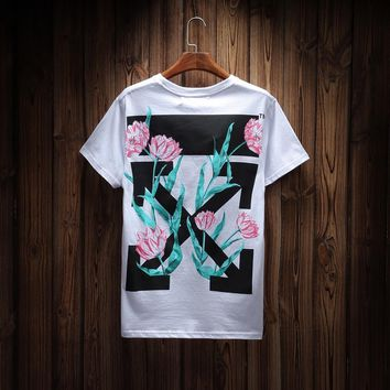 DCCK 1493 OFF WHITE tee Print T-shirt