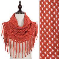 Red Net Infinity with Fringe