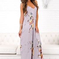 Significance Floral Maxi Dress (Lilac)