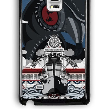 Samsung Galaxy Note Edge Case - Hard (PC) Cover with Bioshock Infinite Poster Plastic Case Design