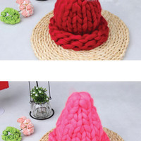 Cone Knit Hat
