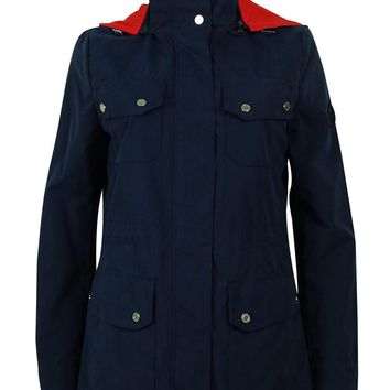 Ralph Lauren Women's Hooded Raincoat