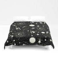 Solar System Duvet Cover by Heather Dutton