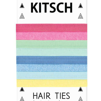 Kitsch Frosted Mini Sweets Hair Ties