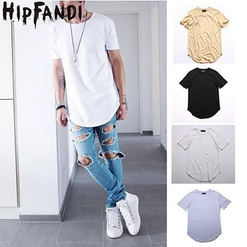 HIPFANDI Men Fashion Summer Style  Kanye West T-shirts Fear of god T-shirt  Season 3 Justin Bieber Crop Top Hip Hop Swag Tees