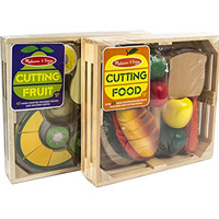 Maven Gifts: Melissa & Doug Cutting Food and Fruit Sets
