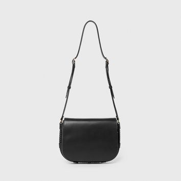 Large Saddle Bag - Black