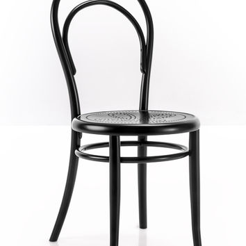Michael Thonet A14 Perforated Seat Bentwood Side Chair by GTV