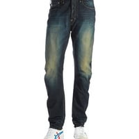 G-Star Raw Distressed Dark Washed Jeans