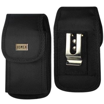 iPhone 6 6s 7 Holster, [Rugged Series] Black Carrying Cell Phone Case Belt Clip