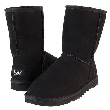 Boys & Men UGG Classic Boots Wool Fur Boots Half Boots Shoes