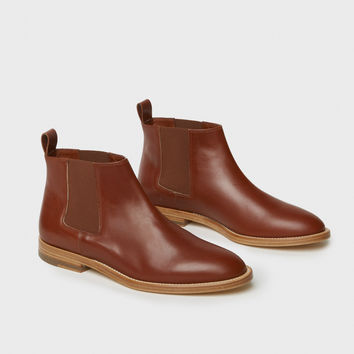 Chelsea Boot - Saddle Leather