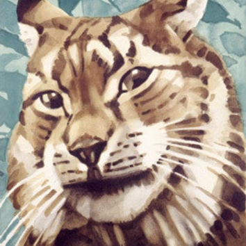 Berlin Zoo Lynx Cat Fine Art Print