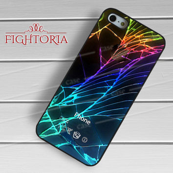 Damaged Phone Rupture Crack -SK for iPhone 6S case, iPhone 5s case, iPhone 6 case, iPhone 4S, Samsung S6 Edge